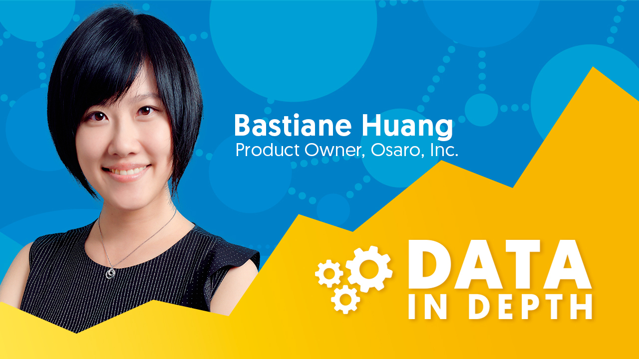 Bastiane Huang from Osaro was this week's Data In Depth guest.