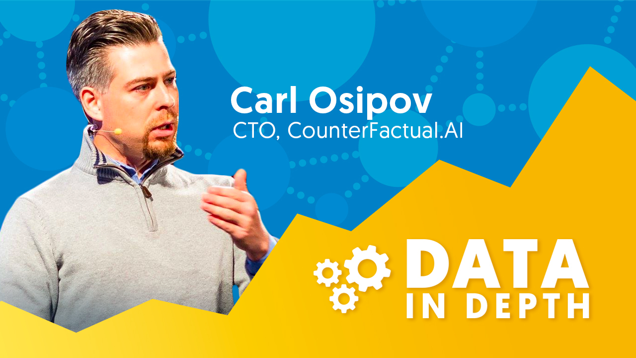 Data in Depth guest Carl Osipov discusses  how companies can reduce their operational overhead with serverless machine learning.