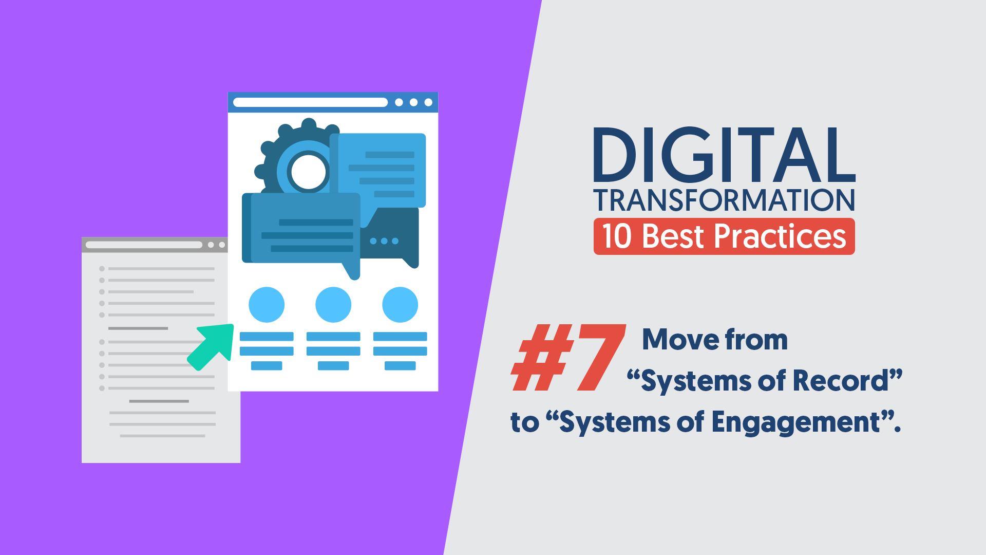 DigitalTransformation-10BestPractices-07-SystemsOfRecordToSystemsOfEngagement